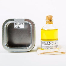 Load image into Gallery viewer, MEN'S SOCIETY | Beard Oil & Face Rag
