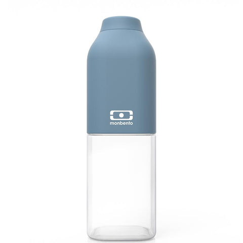 MONBENTO | Positive M Drink Bottle 500ml - Denim