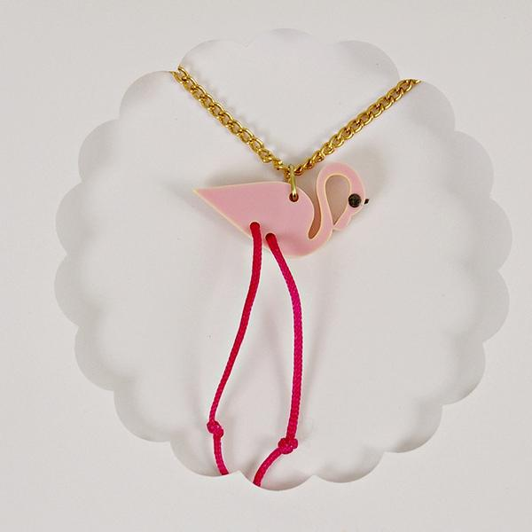 MERI MERI | Sweet Thing Necklace - Flamingo