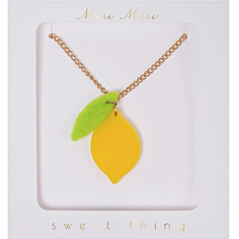 MERI MERI | Sweet Thing Necklace - Lemon