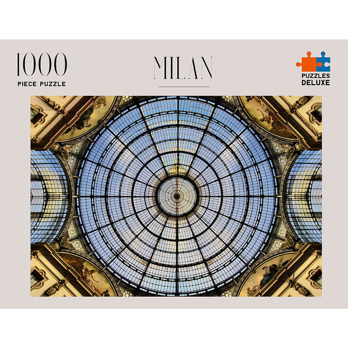 PUZZLES DELUXE 1000 Piece Jigsaw Puzzle - Milan, Italy