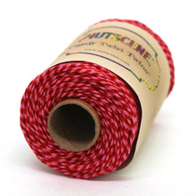Load image into Gallery viewer, NUTSCENE® SCOTLAND  |  CandyTwist Twine® 100m Spool - Pink & Red