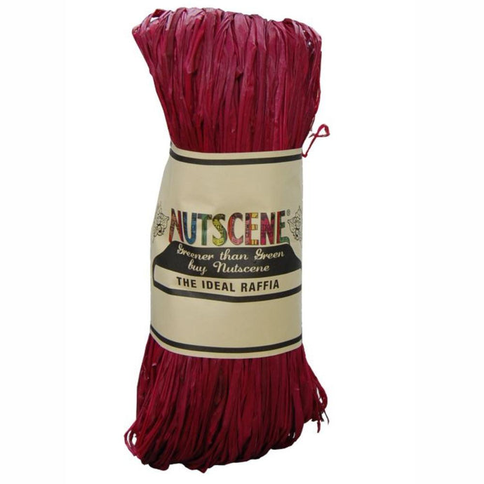 NUTSCENE® SCOTLAND  |  Raffia - Beet Red
