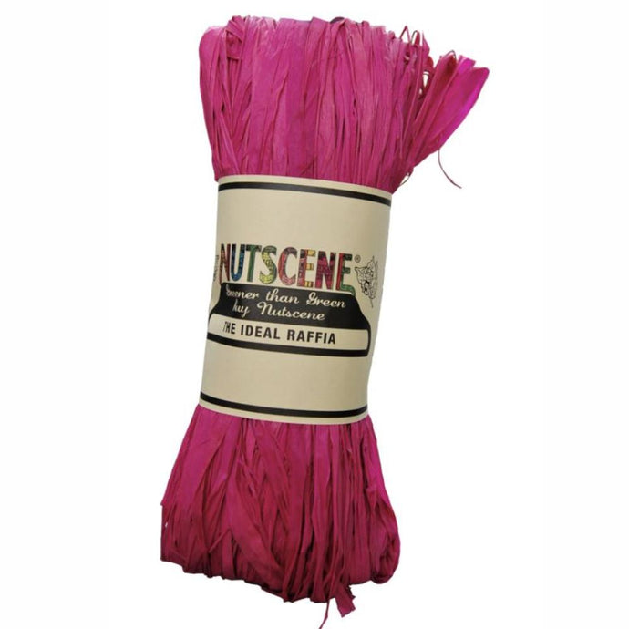 NUTSCENE® SCOTLAND  |  Raffia - Hot Pink
