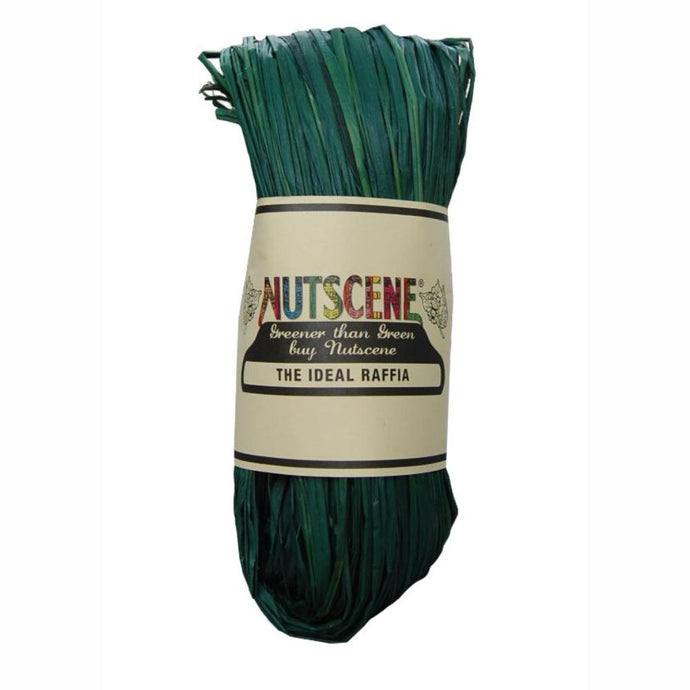 NUTSCENE® SCOTLAND  |  Raffia - Hunter Green