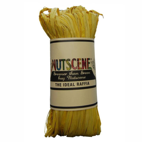 NUTSCENE® SCOTLAND  |  Raffia - Yellow