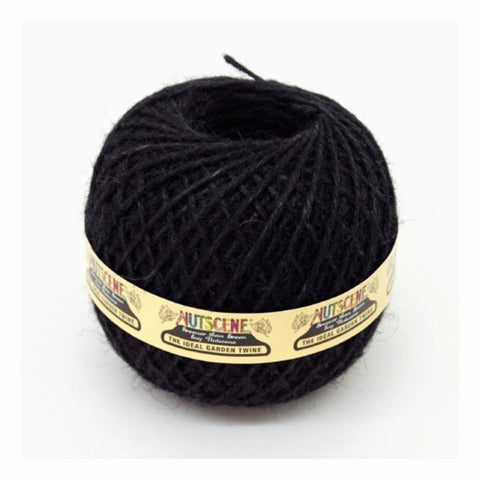 NUTSCENE® SCOTLAND  |  Twine Ball Small - Black