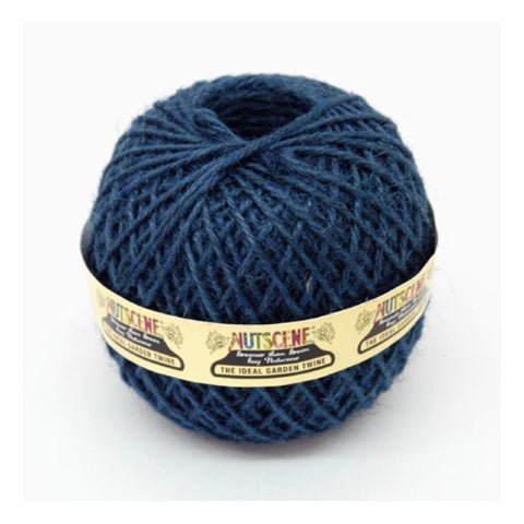 NUTSCENE® SCOTLAND  |  Twine Ball Small - Steel Blue