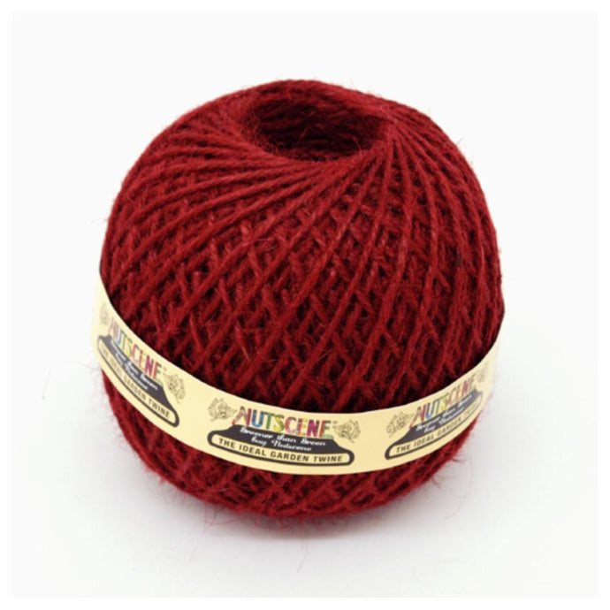 NUTSCENE® SCOTLAND  |  Twine Ball Small - Wine Red