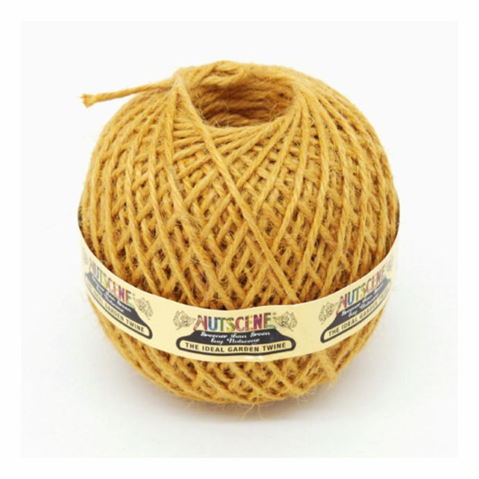 NUTSCENE® SCOTLAND  |  Twine Ball Small - Saffron