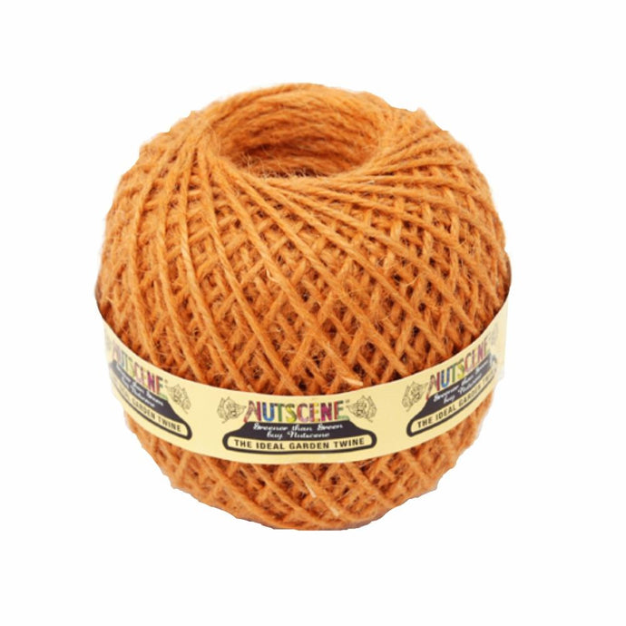 NUTSCENE® SCOTLAND  |  Twine Ball Small - Terracotta