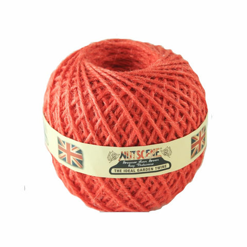 NUTSCENE® SCOTLAND  |  Twine Ball Small - Tomato Red