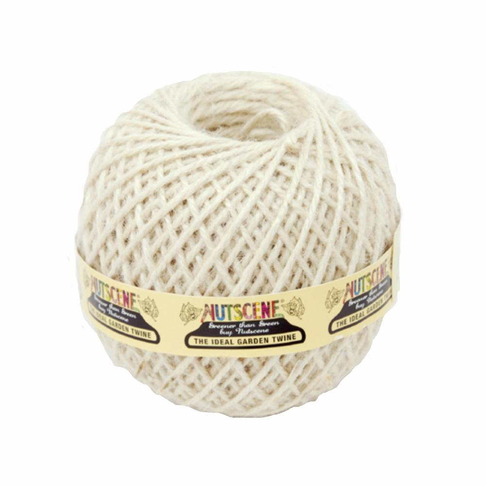 NUTSCENE® SCOTLAND  |  Twine Ball Small - Winter White
