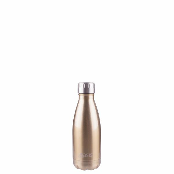 OASIS Drink Bottle 350ml Stainless Insulated - Champagne