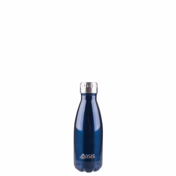 OASIS Drink Bottle 350ml Stainless Insulated - Navy