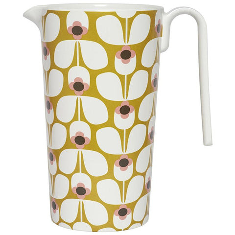 ORLA KIELY | WALLFLOWER CANDY  Melamine Pitcher - Candy Floss