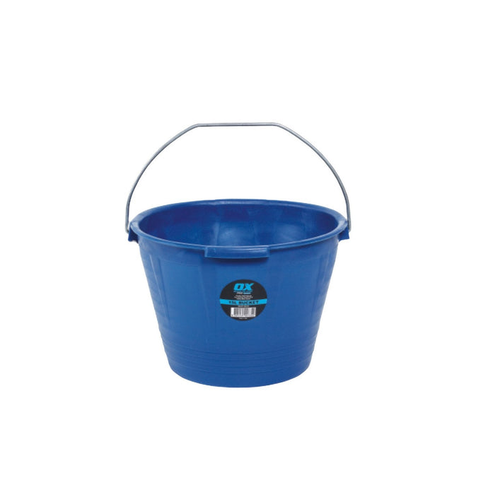 OX PRO Flexible Masonry Bucket 15L