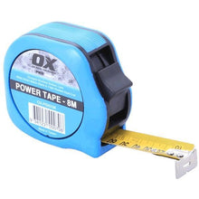 Load image into Gallery viewer, OX Pro Power Tape Measure - 8m