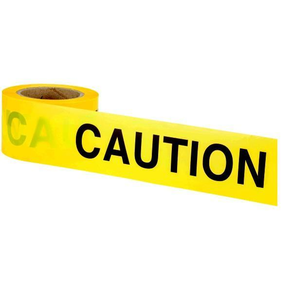 OX Safety Barrier Tape - CAUTION
