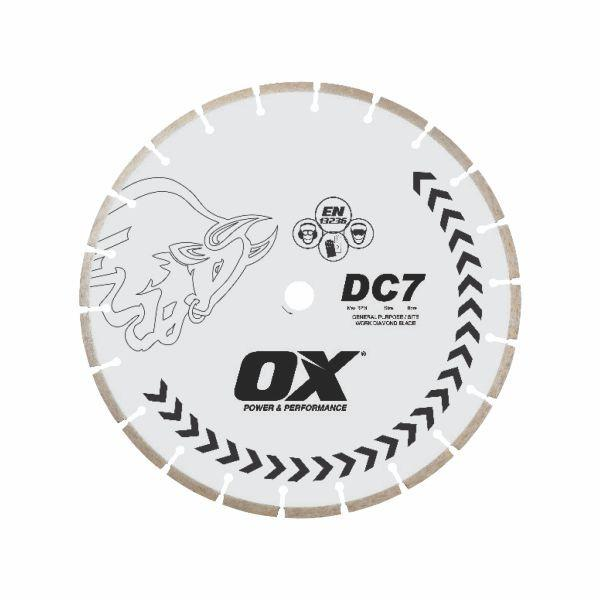 OX Standard DC7 Concrete General Purpose Segmented Diamond Blade - 5