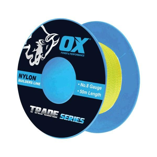 OX Trade Fluro Lime Stringline - 8 gauge