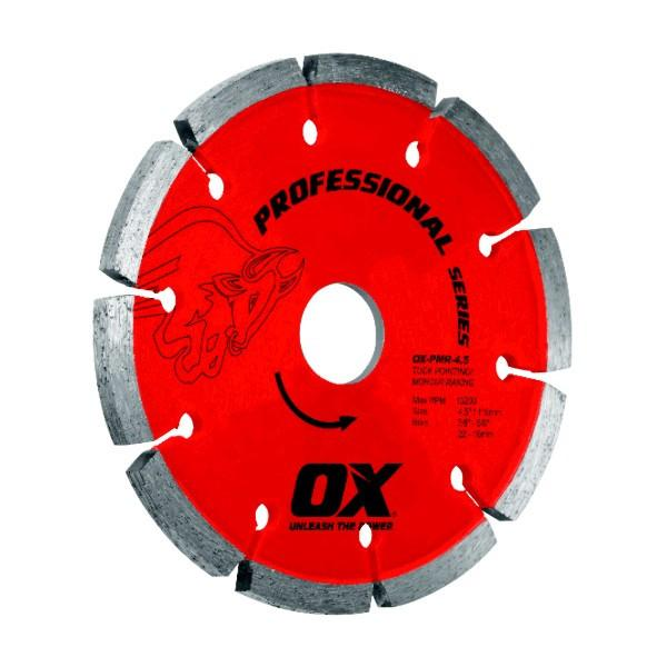 OX Trade PMR Tuck Pointing Masonry Diamond Blade