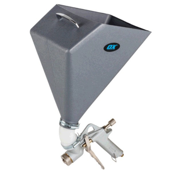 OX Trade Texture Spray Gun - Square Hopper