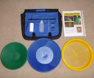 Keene Eldorado | Deluxe Gold Prospecting Panning Kit with Sieve