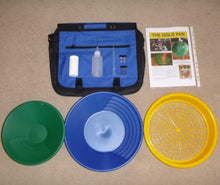 Load image into Gallery viewer, Keene Eldorado | Deluxe Gold Prospecting Panning Kit with Sieve