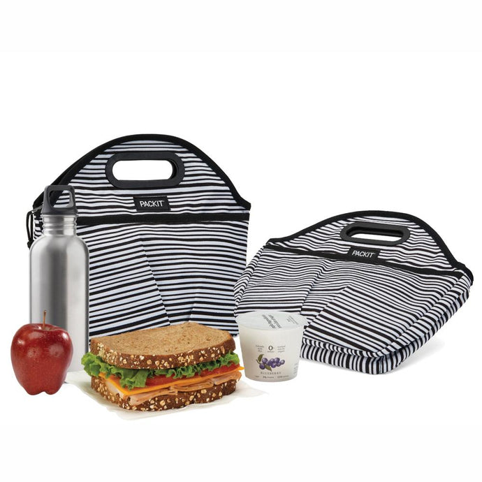 PACKIT® | Freezable Traveller Lunch Bag - Wobbly Stripes