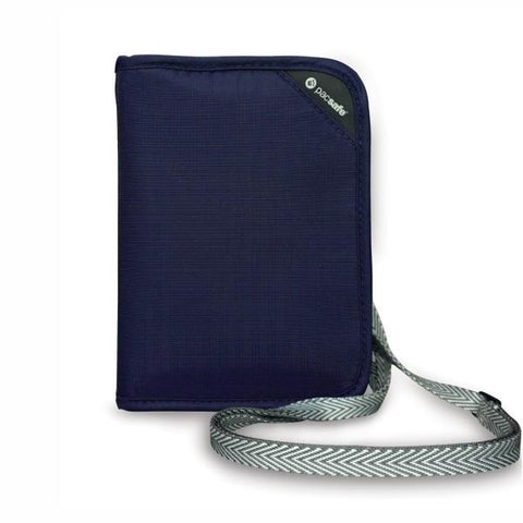 PACSAFE® | RFIDSAFE  V150 Anti-theft RFID Blocking Compact Organiser -  Navy