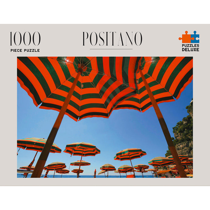 PUZZLES DELUXE 1000 Piece Jigsaw Puzzle - Positano, Italy
