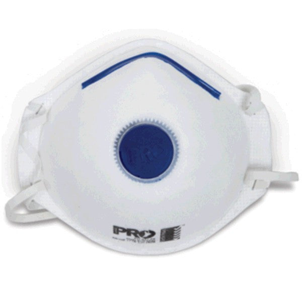 Pro P2 Dust Mask Respirator with Valve PC321 - 12 pack