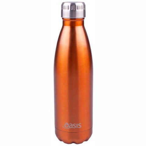 Oasis  |  Stainless Insulated Drink Bottle 750ml - Copper