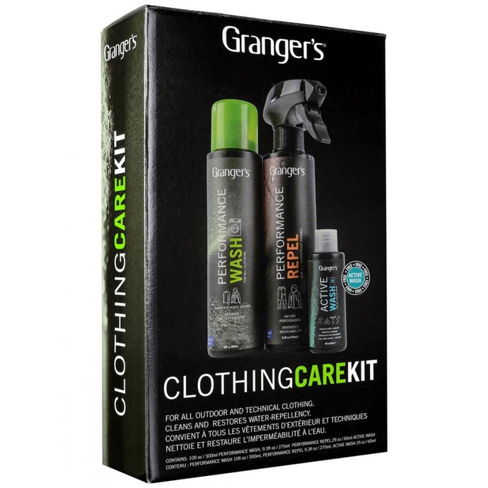 GRANGERS | Outdoor Clothing Cleaning and Care Kit **Limited Stock**