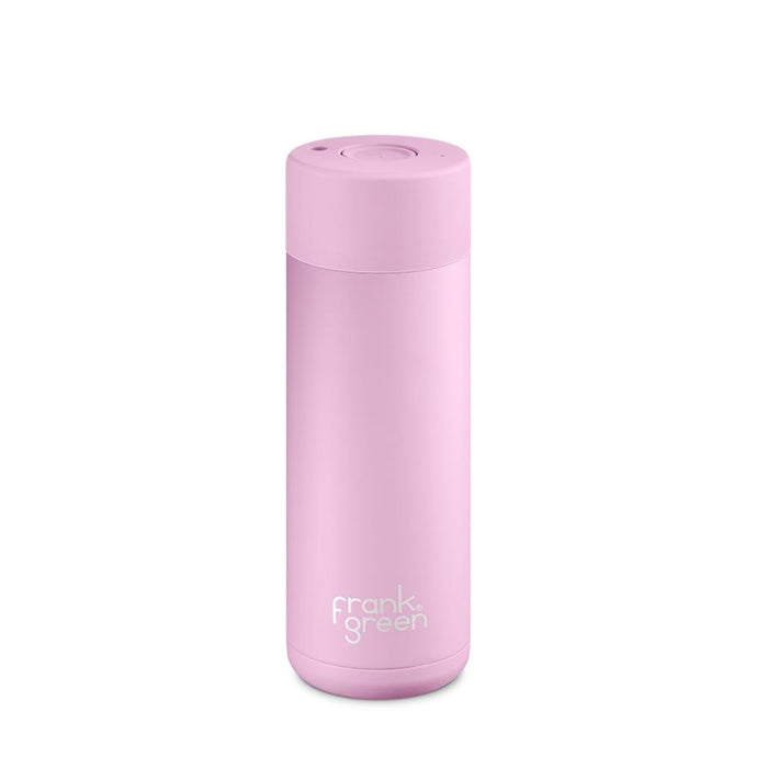 FRANK GREEN | STAINLESS STEEL Stainless Steel Smart Water Bottle 20oz / 595ml - Pink Lavender