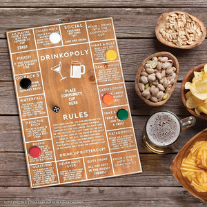 REFINERY & Co | Drinkopoly Board Game