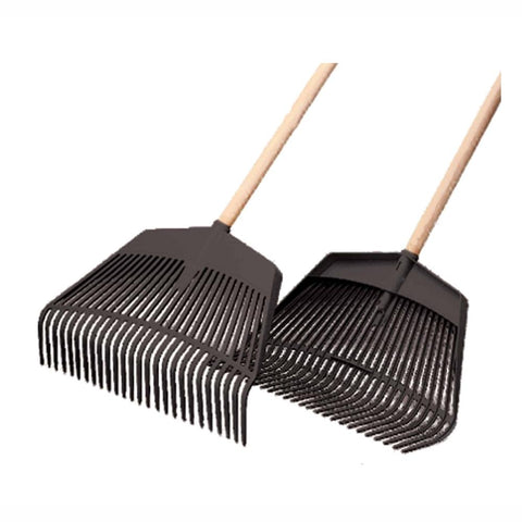 Franz Jost | Plastic 2 in 1 Leaf Rake - 1500mm handle