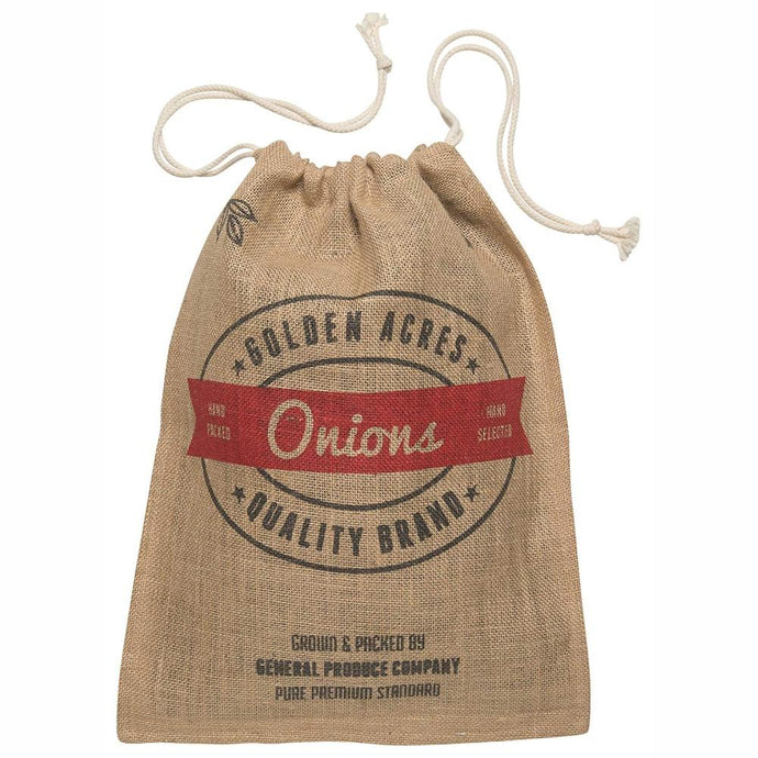 RETRO KITCHEN | Produce Hessian Sack - Onion