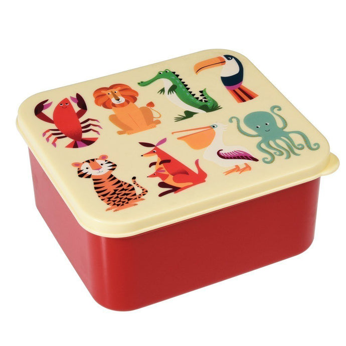 REX LONDON | Children's Lunch Box - Colourful Creatures