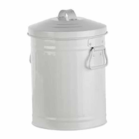 RETRO KITCHEN | Kitchen Utility/Compost Bin - White