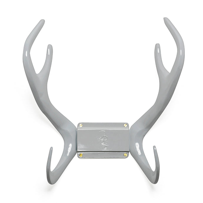 GARDEN GLORY Reindeer Wall Mount Hose Holder - Graceful Rock Grey