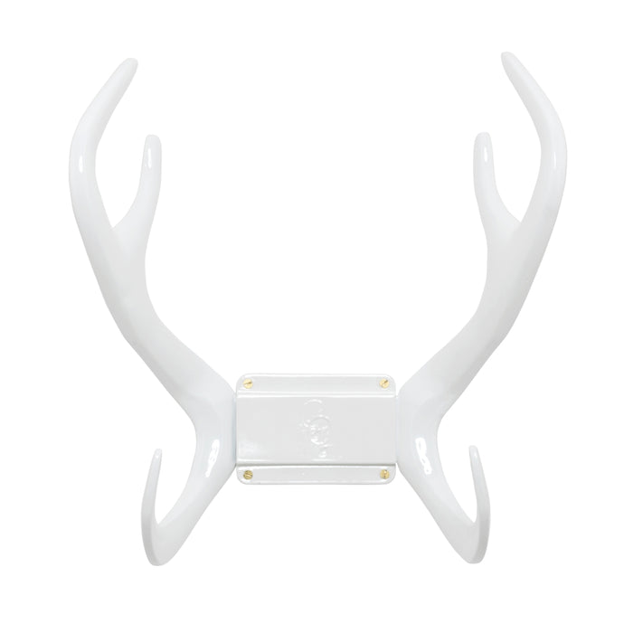 GARDEN GLORY Reindeer Wall Mount Hose Holder - White