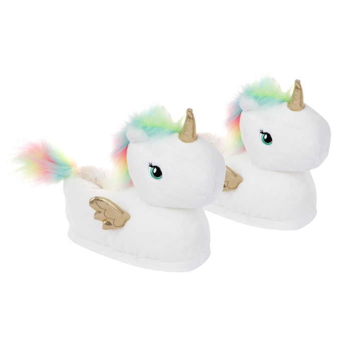 SUNNYLIFE | HAPPY FEET Kids Slippers - Unicorn