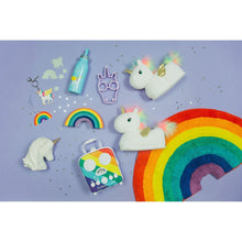 Load image into Gallery viewer, SUNNYLIFE | HAPPY FEET Kids Slippers - Unicorn