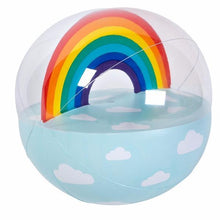 Load image into Gallery viewer, SUNNYLIFE | BLOW & BOUNCE XL Inflatable BEACH Ball - Rainbow Summer 2018