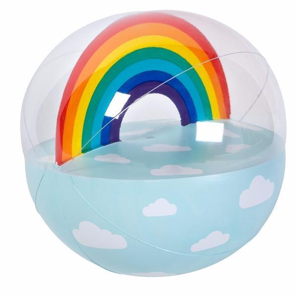 SUNNYLIFE | BLOW & BOUNCE XL Inflatable BEACH Ball - Rainbow Summer 2018