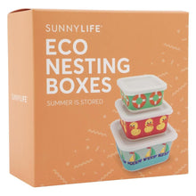 Load image into Gallery viewer, SUNNYLIFE | SUMMER IS STORED Eco Nesting Boxes - Ducky