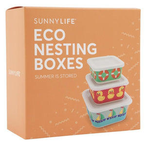 SUNNYLIFE | SUMMER IS STORED Eco Nesting Boxes - Ducky