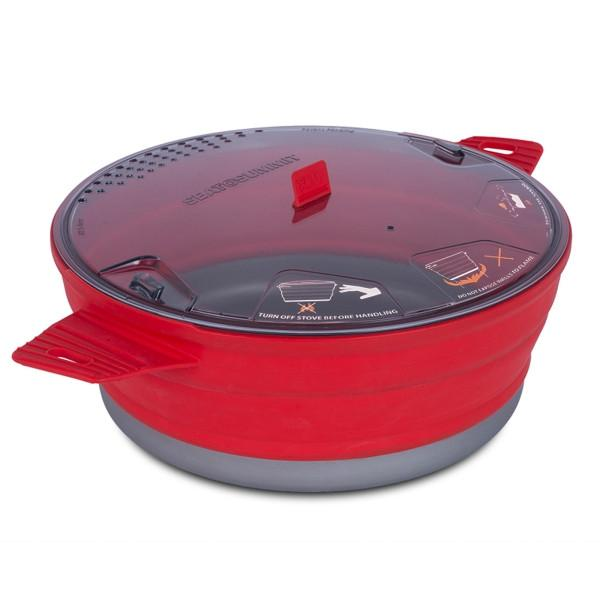 SEA TO SUMMIT |X Camp Cooking Pot - Red 4L